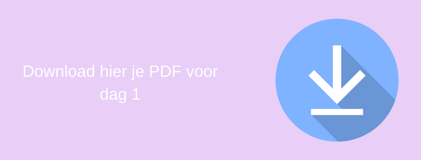 Download hier je PDF voor dag 1