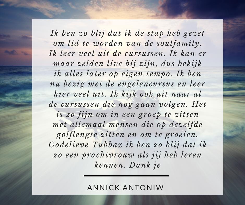 recensie Annick Antoniw GTOA